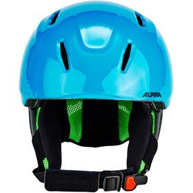 Alpina Carat LX Skihelm Kinderen, green-blue-grey